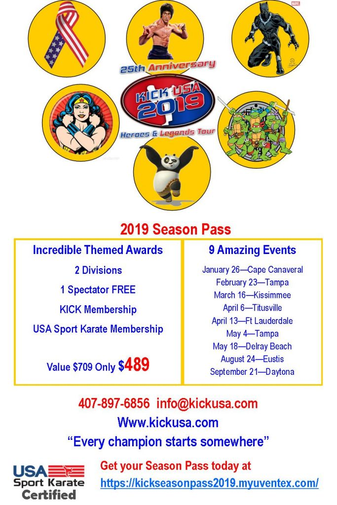 Kick USA Events
